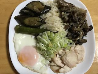 煮びたし素麺